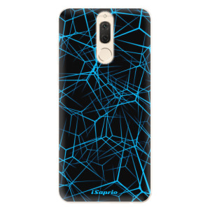 Silikonové pouzdro iSaprio (mléčně zakalené) Abstract Outlines 12 na mobil Huawei Mate 10 Lite