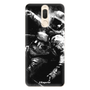 Silikonové pouzdro iSaprio (mléčně zakalené) Astronaut 02 na mobil Huawei Mate 10 Lite