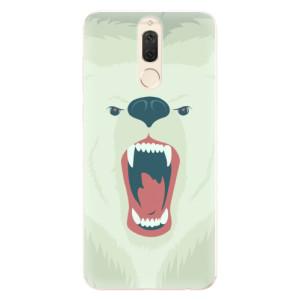 Silikonové pouzdro iSaprio (mléčně zakalené) Naštvanej Medvěd na mobil Huawei Mate 10 Lite