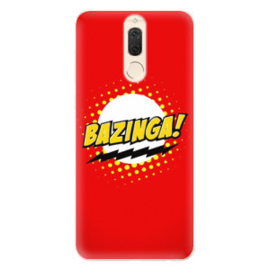 Silikonové pouzdro iSaprio (mléčně zakalené) Bazinga 01 na mobil Huawei Mate 10 Lite