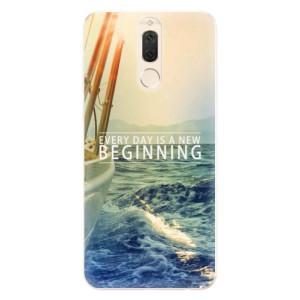Silikonové pouzdro iSaprio (mléčně zakalené) Beginning na mobil Huawei Mate 10 Lite