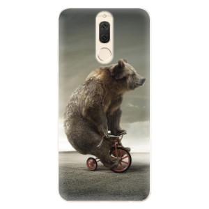 Silikonové pouzdro iSaprio (mléčně zakalené) Medvěd 01 na mobil Huawei Mate 10 Lite
