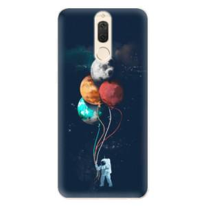 Silikonové pouzdro iSaprio (mléčně zakalené) Balónky 02 na mobil Huawei Mate 10 Lite