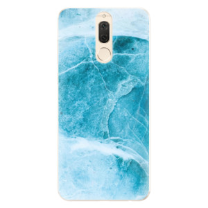 Silikonové pouzdro iSaprio (mléčně zakalené) Blue Marble na mobil Huawei Mate 10 Lite