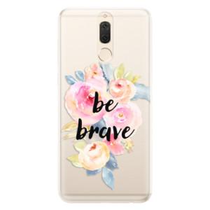 Silikonové pouzdro iSaprio (mléčně zakalené) Be Brave na mobil Huawei Mate 10 Lite