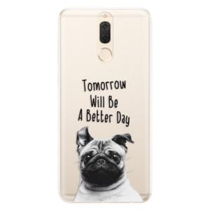 Silikonové pouzdro iSaprio (mléčně zakalené) Better Day 01 na mobil Huawei Mate 10 Lite