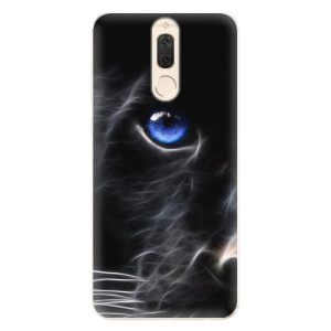 Silikonové pouzdro iSaprio (mléčně zakalené) Black Puma na mobil Huawei Mate 10 Lite