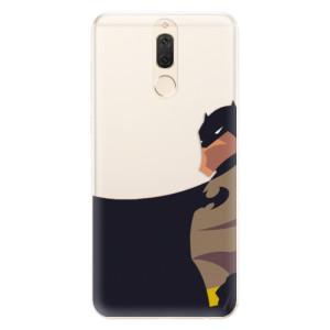 Silikonové pouzdro iSaprio (mléčně zakalené) BaT Komiks na mobil Huawei Mate 10 Lite
