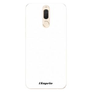 Silikonové pouzdro iSaprio 4Pure bílé na mobil Huawei Mate 10 Lite