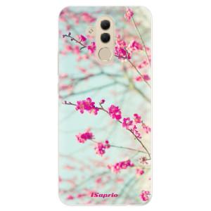Silikonové pouzdro iSaprio (mléčně zakalené) Blossom 01 na mobil Huawei Mate 20 Lite
