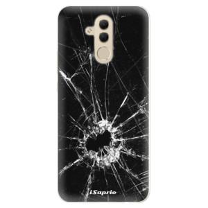 Silikonové pouzdro iSaprio (mléčně zakalené) Broken Glass 10 na mobil Huawei Mate 20 Lite