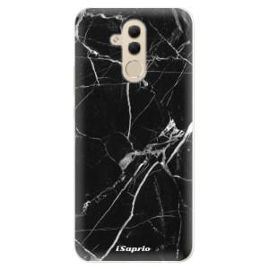 Silikonové pouzdro iSaprio (mléčně zakalené) Black Marble 18 na mobil Huawei Mate 20 Lite