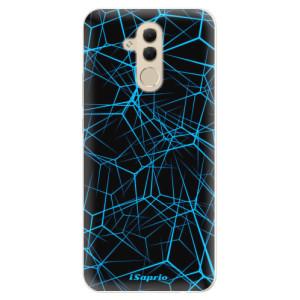 Silikonové pouzdro iSaprio (mléčně zakalené) Abstract Outlines 12 na mobil Huawei Mate 20 Lite