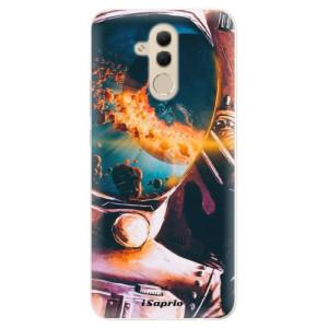 Silikonové pouzdro iSaprio (mléčně zakalené) Astronaut 01 na mobil Huawei Mate 20 Lite