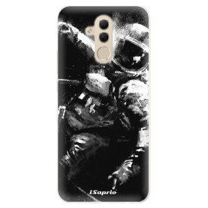 Silikonové pouzdro iSaprio (mléčně zakalené) Astronaut 02 na mobil Huawei Mate 20 Lite