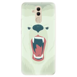 Silikonové pouzdro iSaprio (mléčně zakalené) Naštvanej Medvěd na mobil Huawei Mate 20 Lite