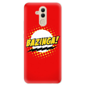 Silikonové pouzdro iSaprio (mléčně zakalené) Bazinga 01 na mobil Huawei Mate 20 Lite