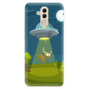 Silikonové pouzdro iSaprio (mléčně zakalené) Ufouni 01 na mobil Huawei Mate 20 Lite