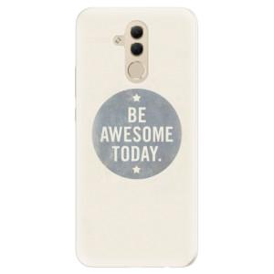 Silikonové pouzdro iSaprio (mléčně zakalené) Awesome 02 na mobil Huawei Mate 20 Lite