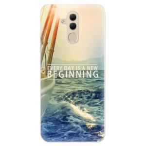 Silikonové pouzdro iSaprio (mléčně zakalené) Beginning na mobil Huawei Mate 20 Lite