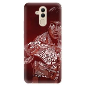 Silikonové pouzdro iSaprio (mléčně zakalené) Bruce Lee na mobil Huawei Mate 20 Lite