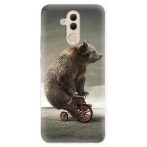 Silikonové pouzdro iSaprio (mléčně zakalené) Medvěd 01 na mobil Huawei Mate 20 Lite