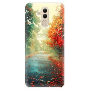 Silikonové pouzdro iSaprio (mléčně zakalené) Podzim 03 na mobil Huawei Mate 20 Lite