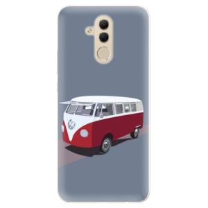Silikonové pouzdro iSaprio (mléčně zakalené) VW Bus na mobil Huawei Mate 20 Lite