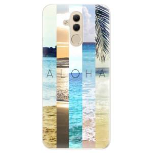 Silikonové pouzdro iSaprio (mléčně zakalené) Aloha 02 na mobil Huawei Mate 20 Lite