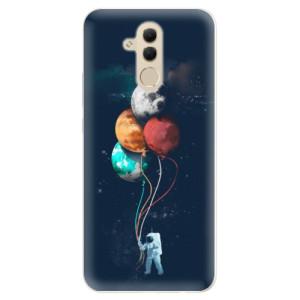 Silikonové pouzdro iSaprio (mléčně zakalené) Balónky 02 na mobil Huawei Mate 20 Lite