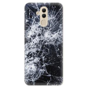 Silikonové pouzdro iSaprio (mléčně zakalené) Praskliny na mobil Huawei Mate 20 Lite