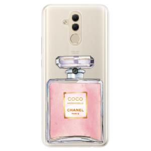 Silikonové pouzdro iSaprio (mléčně zakalené) Chanel Rose na mobil Huawei Mate 20 Lite