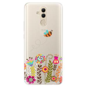 Silikonové pouzdro iSaprio (mléčně zakalené) Včelka Pája 01 na mobil Huawei Mate 20 Lite