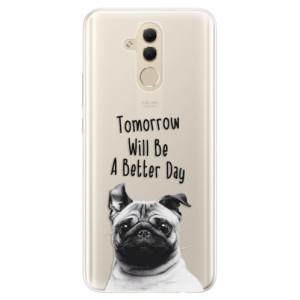 Silikonové pouzdro iSaprio (mléčně zakalené) Better Day 01 na mobil Huawei Mate 20 Lite