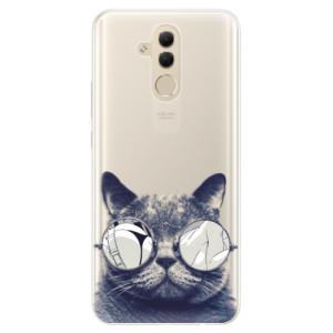 Silikonové pouzdro iSaprio (mléčně zakalené) Šílená Číča 01 na mobil Huawei Mate 20 Lite