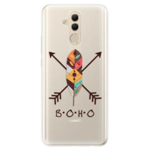 Silikonové pouzdro iSaprio (mléčně zakalené) BOHO na mobil Huawei Mate 20 Lite