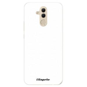 Silikonové pouzdro iSaprio 4Pure bílé na mobil Huawei Mate 20 Lite
