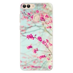 Silikonové pouzdro iSaprio (mléčně zakalené) Blossom 01 na mobil Huawei P Smart