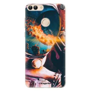 Silikonové pouzdro iSaprio (mléčně zakalené) Astronaut 01 na mobil Huawei P Smart