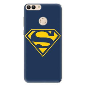 Silikonové pouzdro iSaprio (mléčně zakalené) Superman 03 na mobil Huawei P Smart