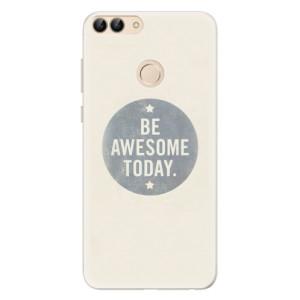 Silikonové pouzdro iSaprio (mléčně zakalené) Awesome 02 na mobil Huawei P Smart