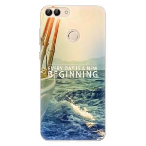 Silikonové pouzdro iSaprio (mléčně zakalené) Beginning na mobil Huawei P Smart