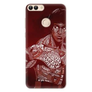 Silikonové pouzdro iSaprio (mléčně zakalené) Bruce Lee na mobil Huawei P Smart