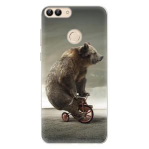 Silikonové pouzdro iSaprio (mléčně zakalené) Medvěd 01 na mobil Huawei P Smart