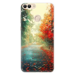 Silikonové pouzdro iSaprio (mléčně zakalené) Podzim 03 na mobil Huawei P Smart