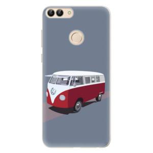 Silikonové pouzdro iSaprio (mléčně zakalené) VW Bus na mobil Huawei P Smart