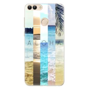 Silikonové pouzdro iSaprio (mléčně zakalené) Aloha 02 na mobil Huawei P Smart