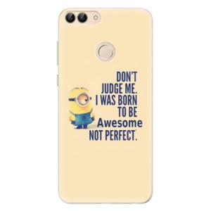 Silikonové pouzdro iSaprio (mléčně zakalené) Be Awesome na mobil Huawei P Smart