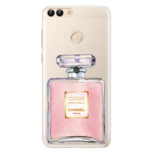 Silikonové pouzdro iSaprio (mléčně zakalené) Chanel Rose na mobil Huawei P Smart