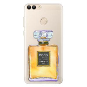 Silikonové pouzdro iSaprio (mléčně zakalené) Chanel Gold na mobil Huawei P Smart